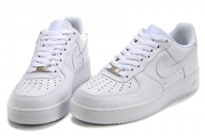 Nike Air Force 1 Low - Buty Niskie Białe / All White