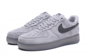 Nike Air Force 1 Low - Obuwie Niskie Szare / Gray
