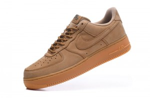 Nike Air Force 1 Low - Obuwie Niskie Brązowe / Brown